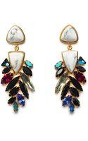 Lizzie Fortunato Jewels Marquee Earrings - Lyst