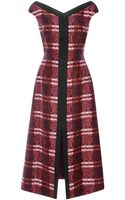 Mother Of Pearl Jolene Printed Silktwill Dress - Lyst