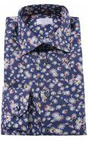 Eton Of Sweden Daisy Print Shirt - Lyst