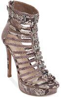Jessica Simpson Cheyne Caged Platform Sandals - Lyst