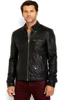 Soia & Kyo Leather Motorcycle Jacket - Lyst