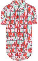 Kenzo Printed Cotton Shirt - Lyst