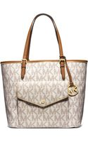 MICHAEL Michael Kors Jet Set Large Pocket Tote Bag - Lyst