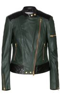 Closed Red Hook Patchwork Leather Jacket - Lyst
