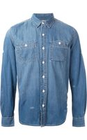 Barbour Denim Shirt - Lyst