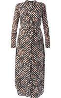 Saloni Long Molly Tunic Dress - Lyst