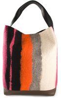 Marni Striped Shoulder Bag - Lyst