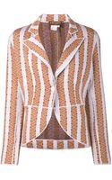 Duro Olowu Striped Knit Blazer - Lyst