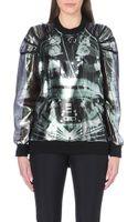 Jean Paul Gaultier Space-print Silk-blend Sweatshirt - Lyst
