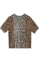 Elizabeth And James Leopard Print Sweater - Lyst
