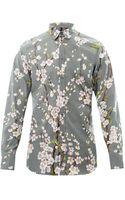 Dolce & Gabbana Blossomprint Goldfit Shirt - Lyst