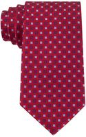 Tommy Hilfiger Red Micro Neats Tie - Lyst