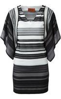 Missoni Striped Crochet Knit Dress - Lyst