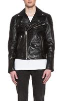 Blk Dnm Quilted Motorcycle Jacket - Lyst