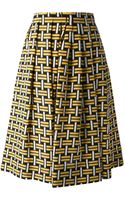 Fendi Pleated Skirt - Lyst