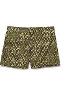 Dan Ward Midlength Printed Swim Shorts - Lyst