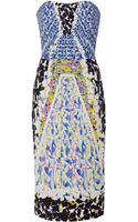 Peter Pilotto Ks Printed Crepejersey Dress - Lyst