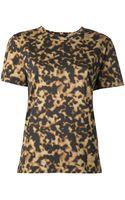 Barbara Bui Tortoiseshell Print Tshirt - Lyst