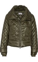 Adidas By Stella McCartney Cropped Quilted Shell Jacket - Lyst