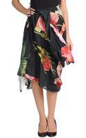 Vivienne Westwood Anglomania Knee Length Skirt - Lyst