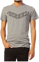 Diesel Short Sleeve Tshirt 00sdg0 Tkritil - Lyst