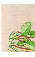 Janavi Elephant Embroidered Cashmere Scarf - Lyst