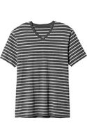 Old Navy Striped V-neck Tees - Lyst