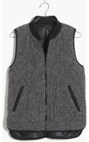 Madewell Reversible Quilted Vest - Lyst