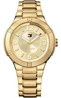 Tommy Hilfiger Womens Gold Ion-plated Stainless Steel Bracelet Watch 40mm - Lyst