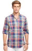 Polo Ralph Lauren Overprinted Bleecker Shirt - Lyst