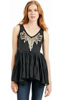 Free People Darling Dee Embellished Tunic - Lyst