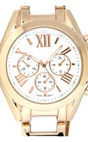 Forever 21 Twotone Chrono Watch - Lyst