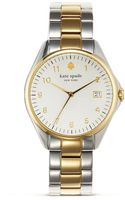 Kate Spade Seaport Grand Two Tone Watch 28mm - Lyst