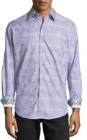Robert Graham Angelo Check Woven Sport Shirt - Lyst