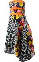 Peter Pilotto Bek Textured Print Dress - Lyst