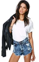 Nasty Gal Shock Value Cut-Off Shorts - Lyst