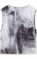 Helmut Lang Tidal Print Jersey Top - Lyst
