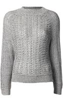 Theyskens' Theory Katriel Knit Sweater - Lyst