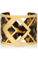 Tory Burch Aislin Resin Cuff - Lyst