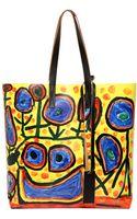 Marni Printed Tote Bag - Lyst