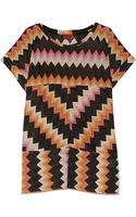 Missoni Metallic Crochetknit Mini Dress - Lyst