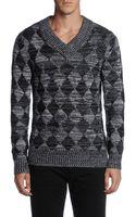 Diesel knitwear v neck - Lyst