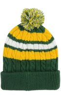 New Era Green Bay Packers Cold Weather Knit Hat - Lyst