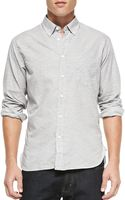 Billy Reid Rosedale Buttondown Microprint Shirt - Lyst