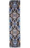 Roberto Cavalli Printed Silk Scarf - Lyst