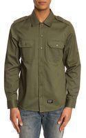 Carhartt Military Khaki Shirt - Lyst