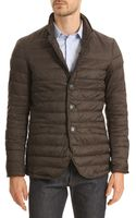 Armani Jeans N74 Brown Anorak with Removable Hood - Lyst