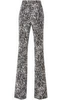 Giambattista Valli Wide Leg Trousers in Macrame Chine - Lyst
