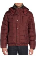 Marc New York By Andrew Marc Furtrimmed Quilted Down Bomber Jacket - Lyst