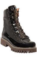 McQ by Alexander McQueen Frazer Zip Leather Boot - Lyst